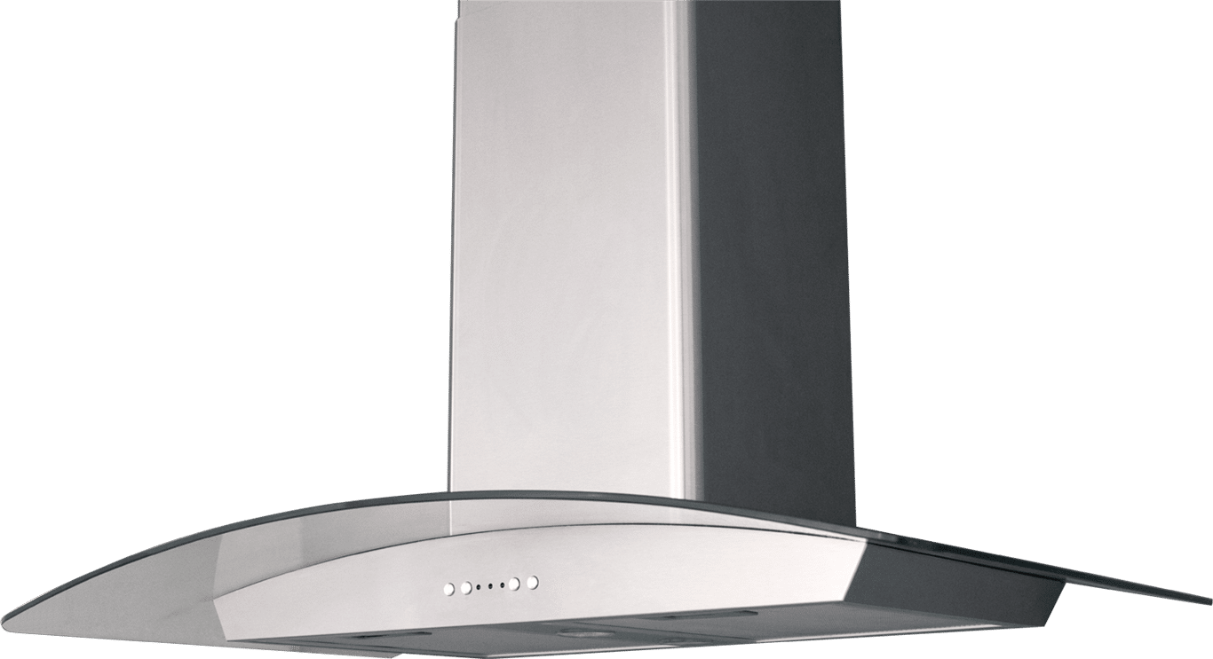 RH007 Yale Glass Chimney Hood