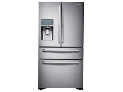 Refrigerator_French-Door_RF22KREDBSR_Front_Closed_Silver