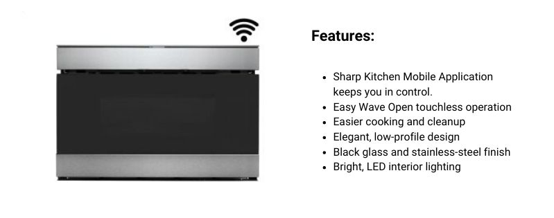 SHARP Smart Microwave Drawer