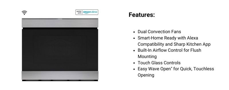 SHARP-SMD2499FS-Microwave-Drawer