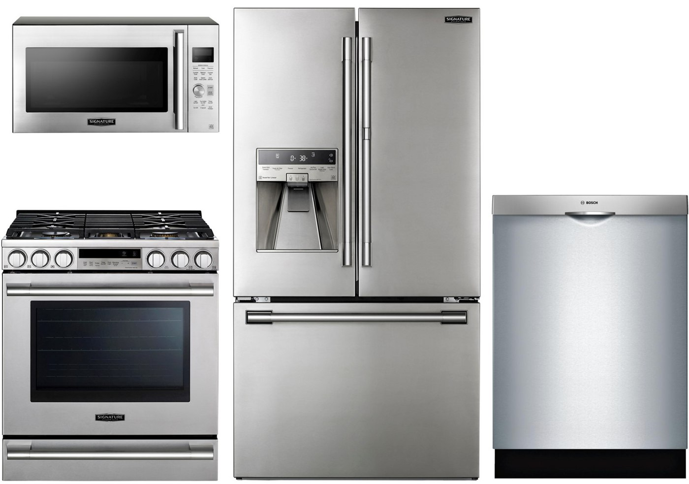 SKS Counter Depth Package with Bosch Dishwasher