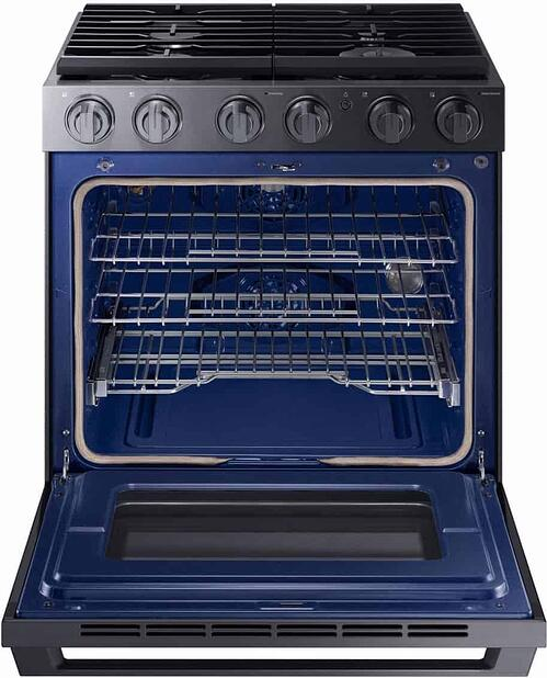 Samsung Chef Collection Pro Gas Range NX58M9960PM Oven (1)