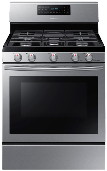 Samsung NX58H5600SS Convection Freestanding Gas Range