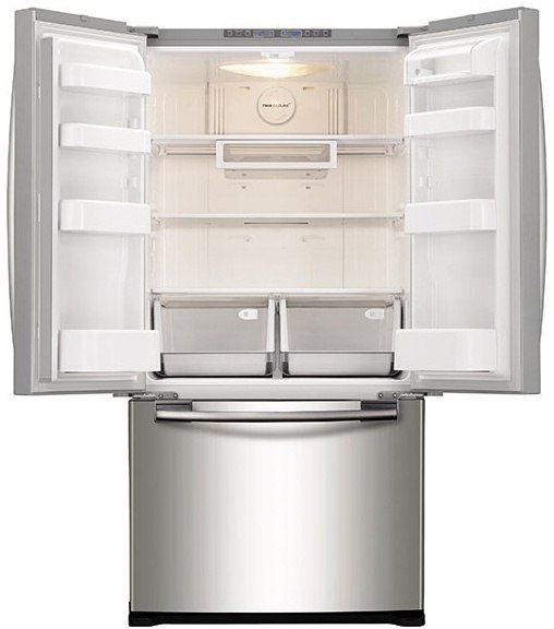 ... Samsung RF18HFENBSR Refrigerator Interior