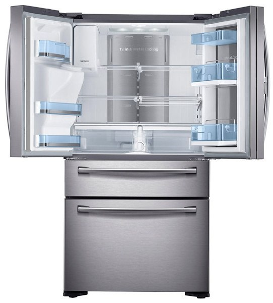Samsung RF22KREDBSR Refrigerator Interior