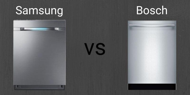 Samsung Vs. Bosch Dishwashers