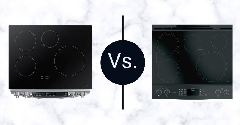 Samsung Vs. GE Profile Induction Range Cooktops