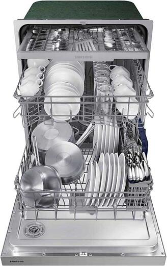 Samsung-Dishwasher-Under-600-Model-DW80N3030US-Interior