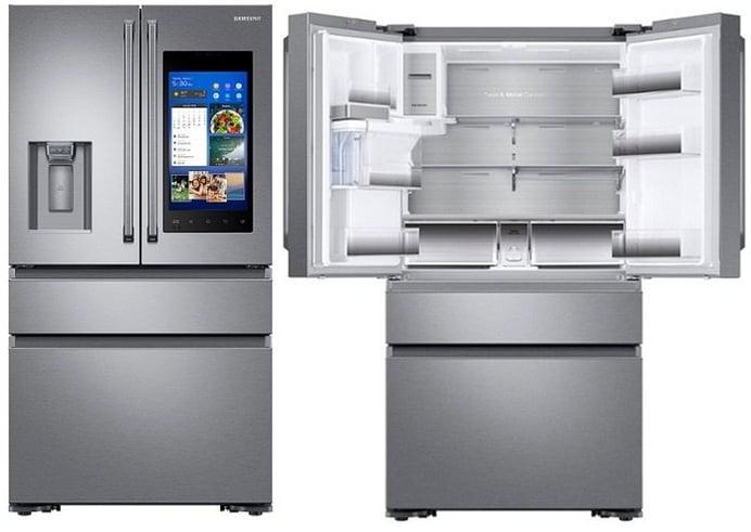 Jenn Air Vs Samsung 4 Door French Door Refrigerators