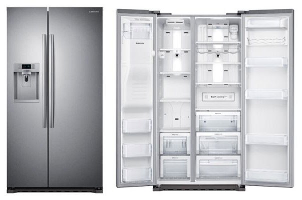 Samsung-Side-By-Side-Counter-Depth-Refrigerator-RS22HDHPNSR