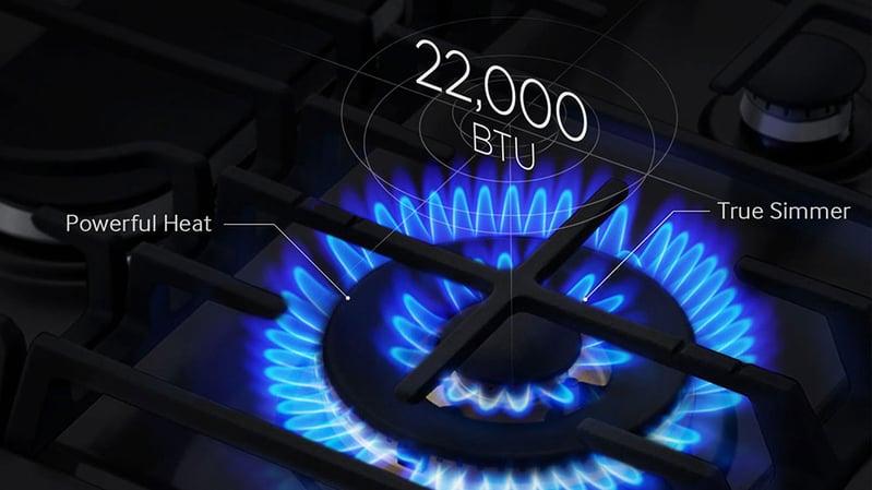 Samsung-Slide-In-Gas-Range-Burner