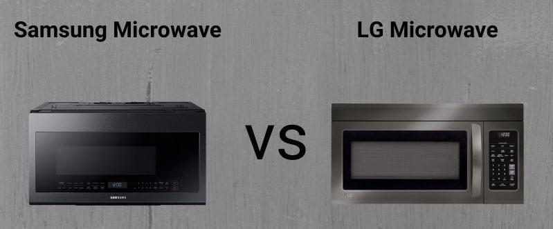 Samsung-Vs.-LG-Black-Stainless-Steel-Microwaves