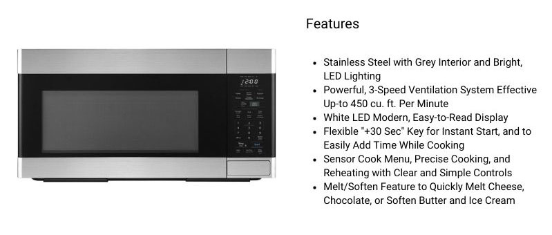 Sharp-SMO1854DS-Over-The-Range-Microwave