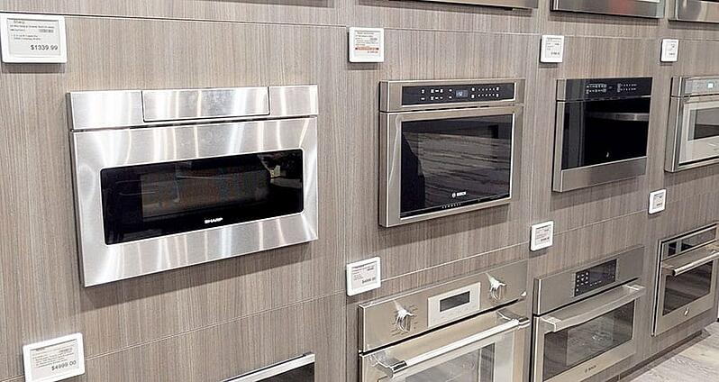 Sharp-microwave-drawers-at-yale-appliance-in-hanover