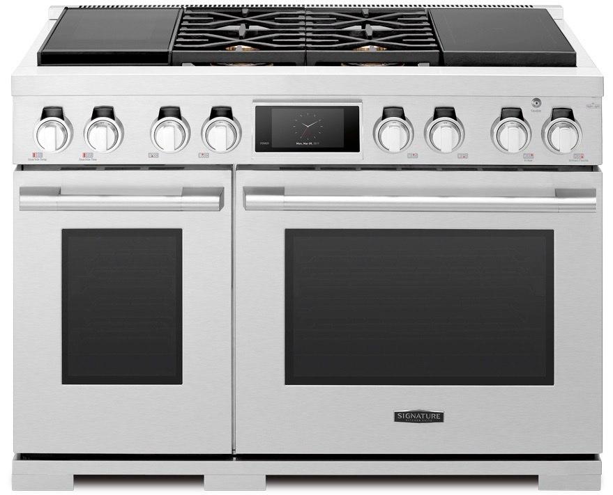 Signature-Kitchen-Suites-48-inch Dual-Fuel Pro Range