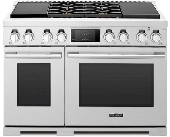 Signature-Kitchen-Suites-48-inch Dual-Fuel Pro Range