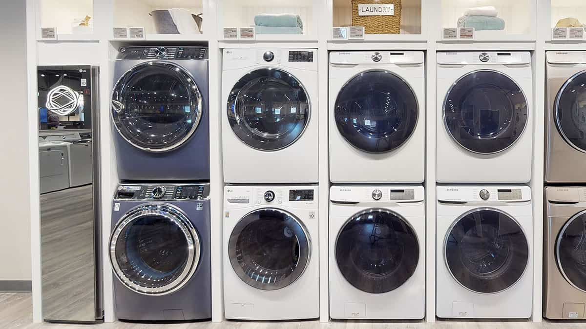 Stacked-GE-Front-Load-Laundry