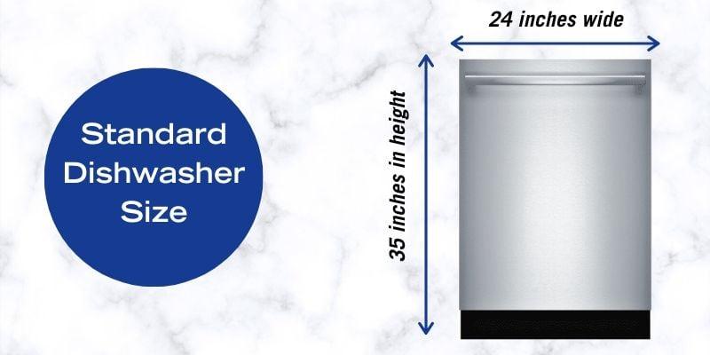 Standard Dishwasher Size