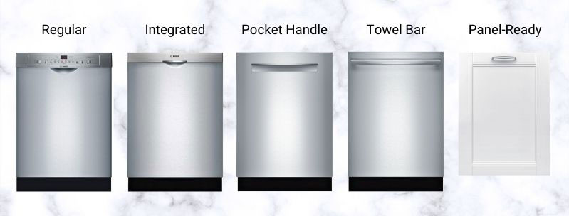 Styles-of-Bosch-Dishwashers