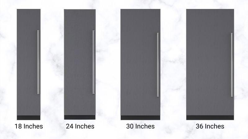 Sub-Zero-Column-Refrigeration-Sizes
