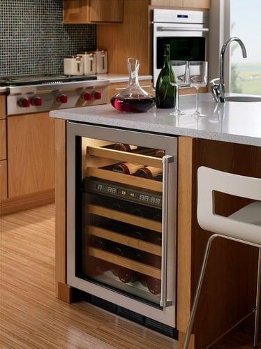 Sub Zero Vs Ge Monogram Undercounter Wine Refrigerators