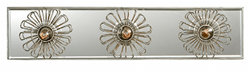 The Keaton 18 Inch Floral Vanity Light in Gild and Mirror or in Burnished Silver Leaf and Mirror.png
