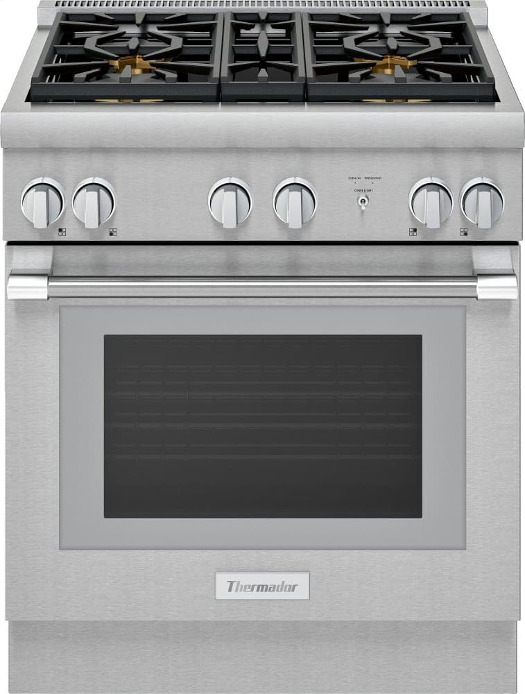 Thermador 30-inch all gas pro range prg304wh (1)