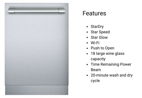 Thermador Dishwasher DWHD870WFP