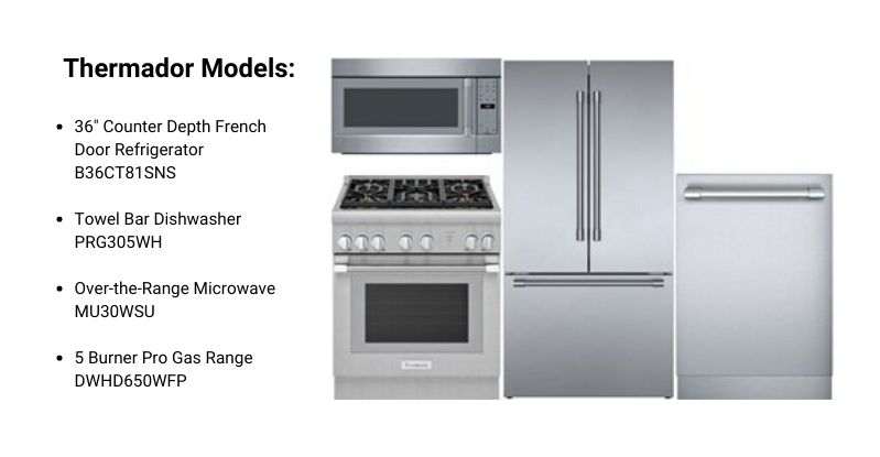 Thermador Pro Appliance Package