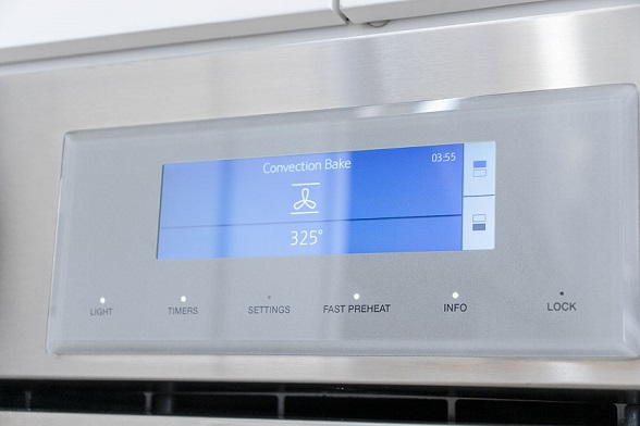 Thermador Pro wall oven controls