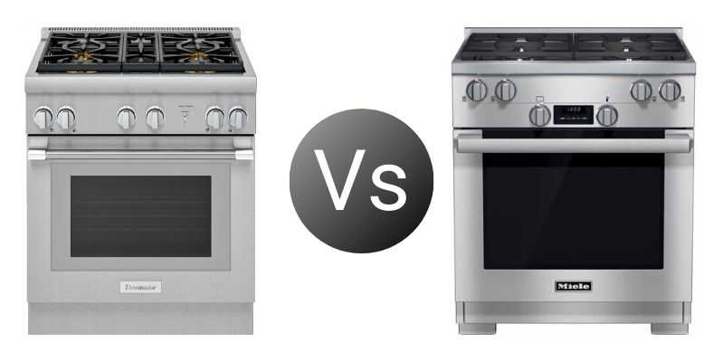 Thermador Vs. Miele 30-Inch Professional Ranges