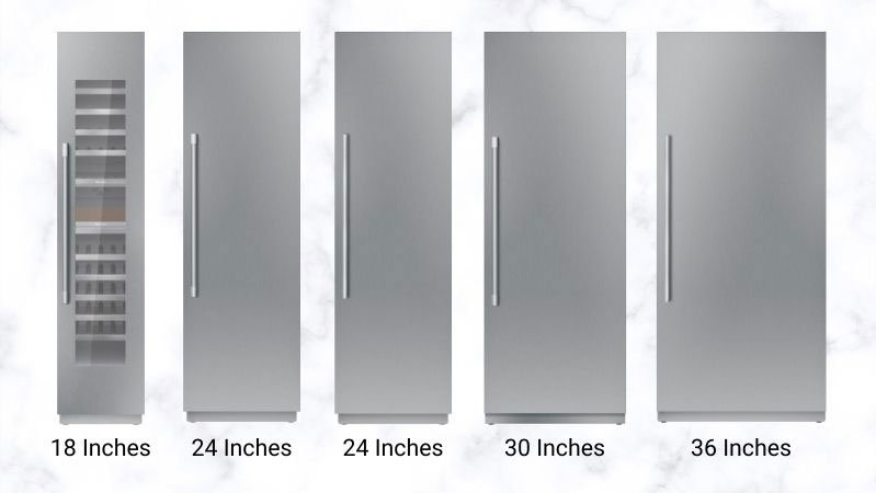 Thermador-Column-Refrigeration-Sizes