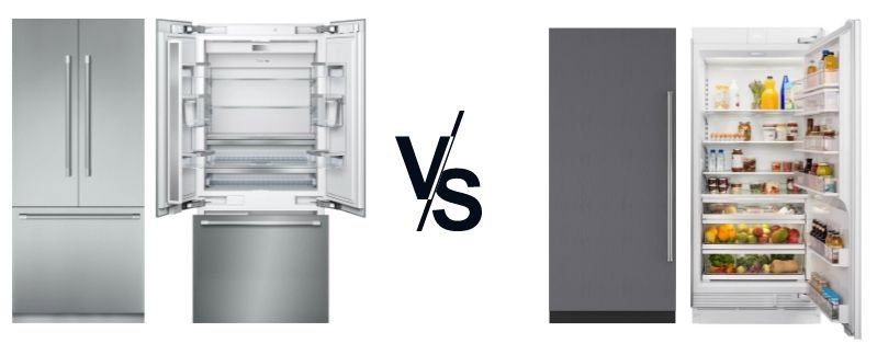 Thermador-vs-Subzero-most-popular-built-in-and-integrated-refrigeration