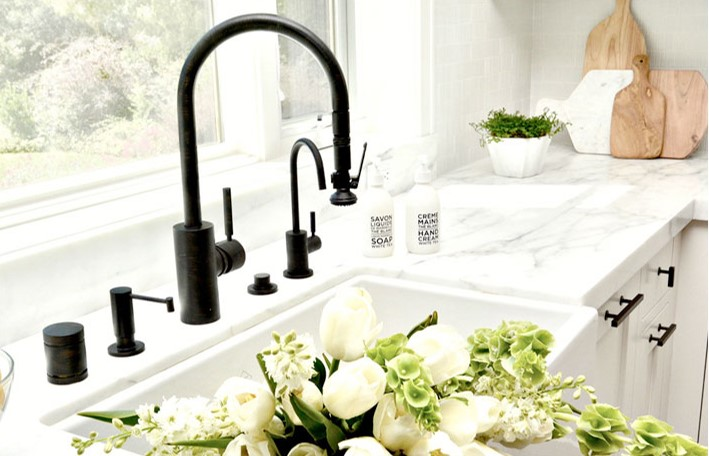 Waterstone Industrial Pull Down Kitchen Faucet
