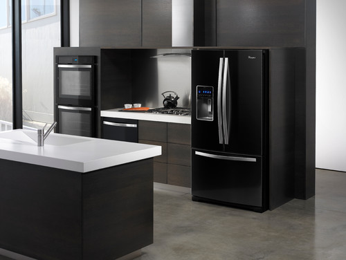 Whirlpool Black Ice Kitchen