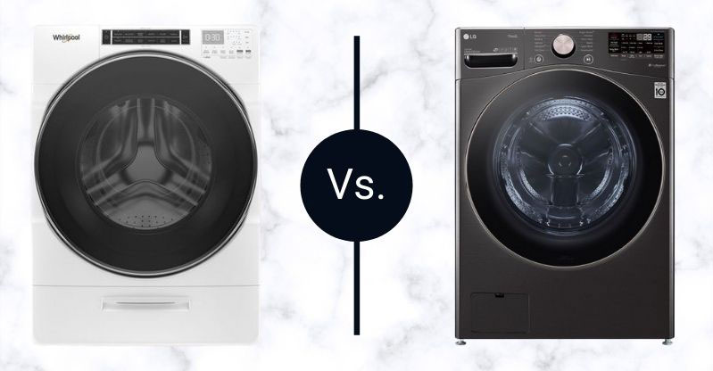 Whirlpool-vs-LG-front-load-washers