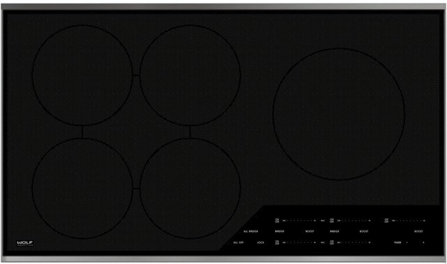 Wolf Induction Cooktop- 36-inch