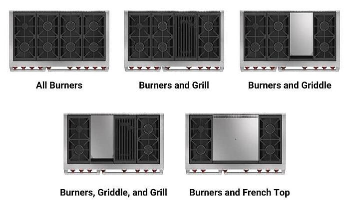 Wolf-Dual-Fuel-Pro-Range-Stovetop-Options-in-48-inches