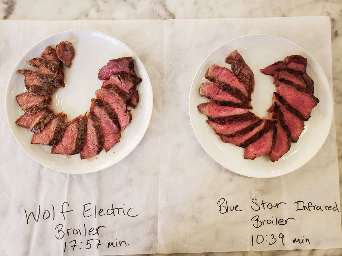 Wolf-Electric-Broiler-vs.-BlueStar-Infrared-Broiler---Chef-Test