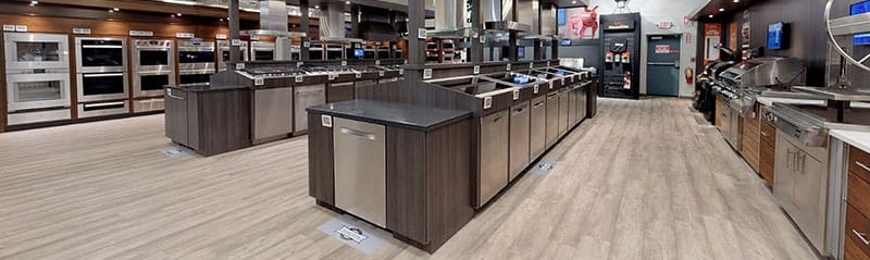 Yale Appliance Dishwasher Display in Framingham