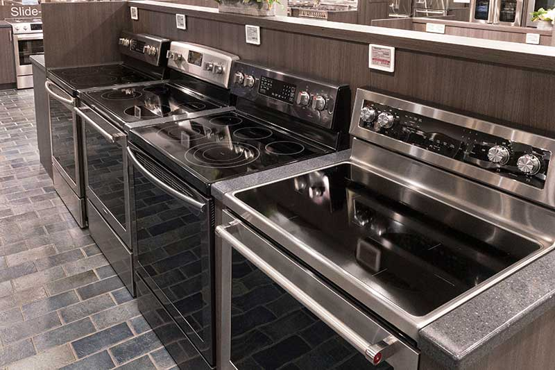 Yale-Appliance-Electric-Ranges-Boston-Showroom