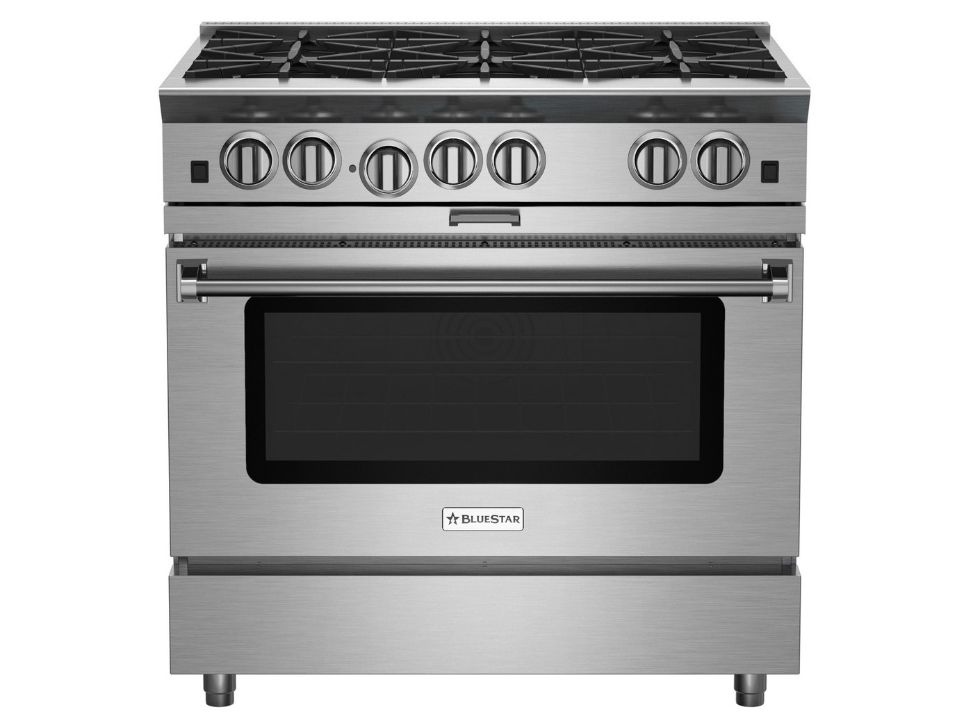 36-inch Platinum Series Freestanding Range from BlueStar