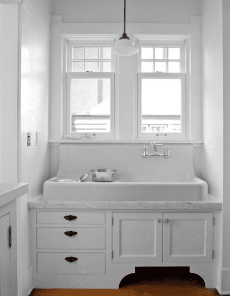 How to buy a kitchen sink choosing stainless porcelain concrete or fireclay materials - Cast iron sink weight ...
