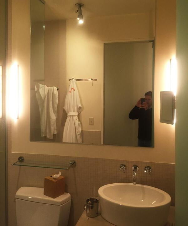 Chamber Hotel Bathroom Lighting