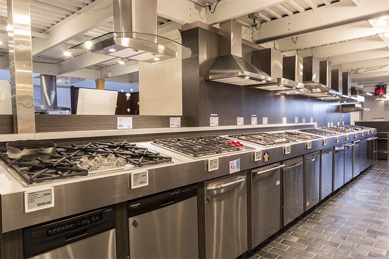 Dishwasher Display 2018- Boston Showroom Yale Appliance + Lighting