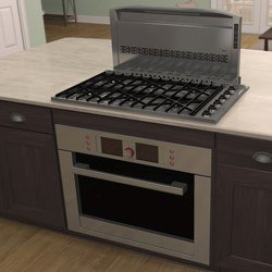 Can You Install A Downdraft Vent Behind Range Reviews Ratings