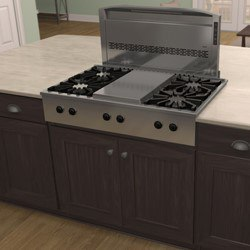Downdraft with Drop-in Gas Rangetop.jpg