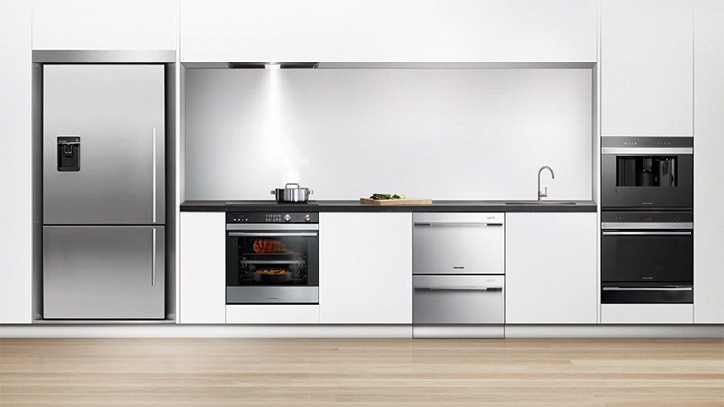 how to put timer in fisher and paykel oven