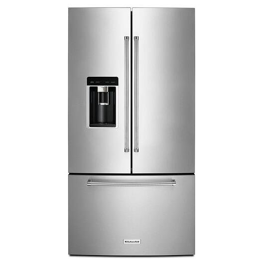 The Largest Capacity Counter Depth French Door Refrigerators ...