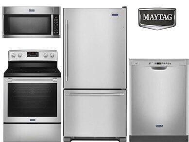 Maytag Basic Stainless Steel Kitchen Package Jpg